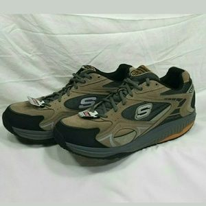 Skechers Shapeups Mens 12 XT Shoes TPBK Sneakers